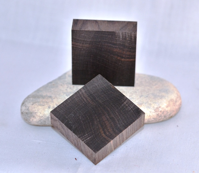 Premium Ring Blank: African Blackwood