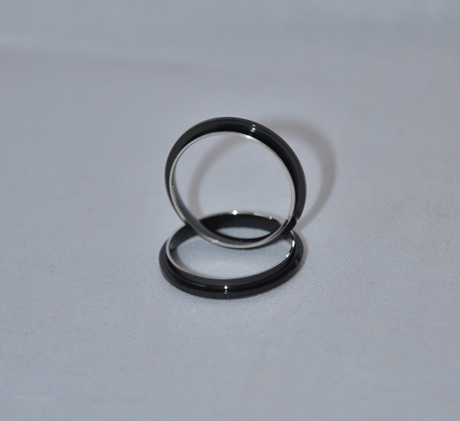 Black Comfort Ring Core: Size 11