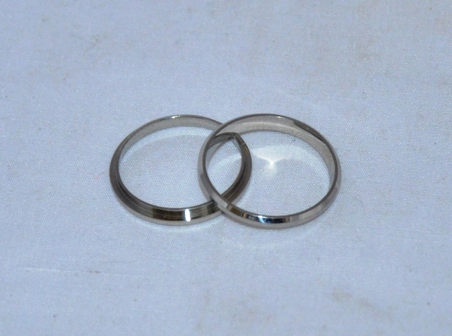 Silver Comfort Ring Core: Size 7